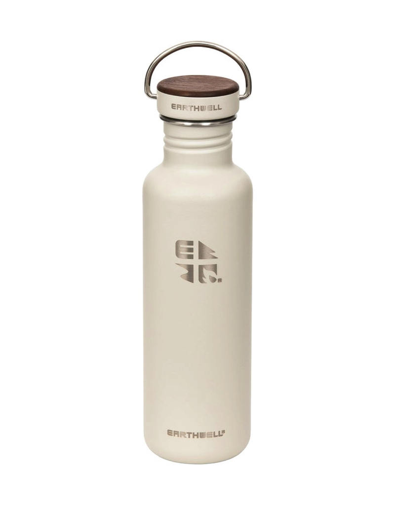 Earthwell 27oz Bottle 20 Baja Sand Woodie Walnut Cap