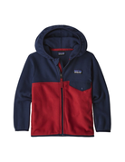 Patagonia Baby Micro D Snap-T Jkt Fire w/New Navy