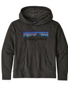 Patagonia K's LW Graphic Hoody Sweatshirt Forge Grey