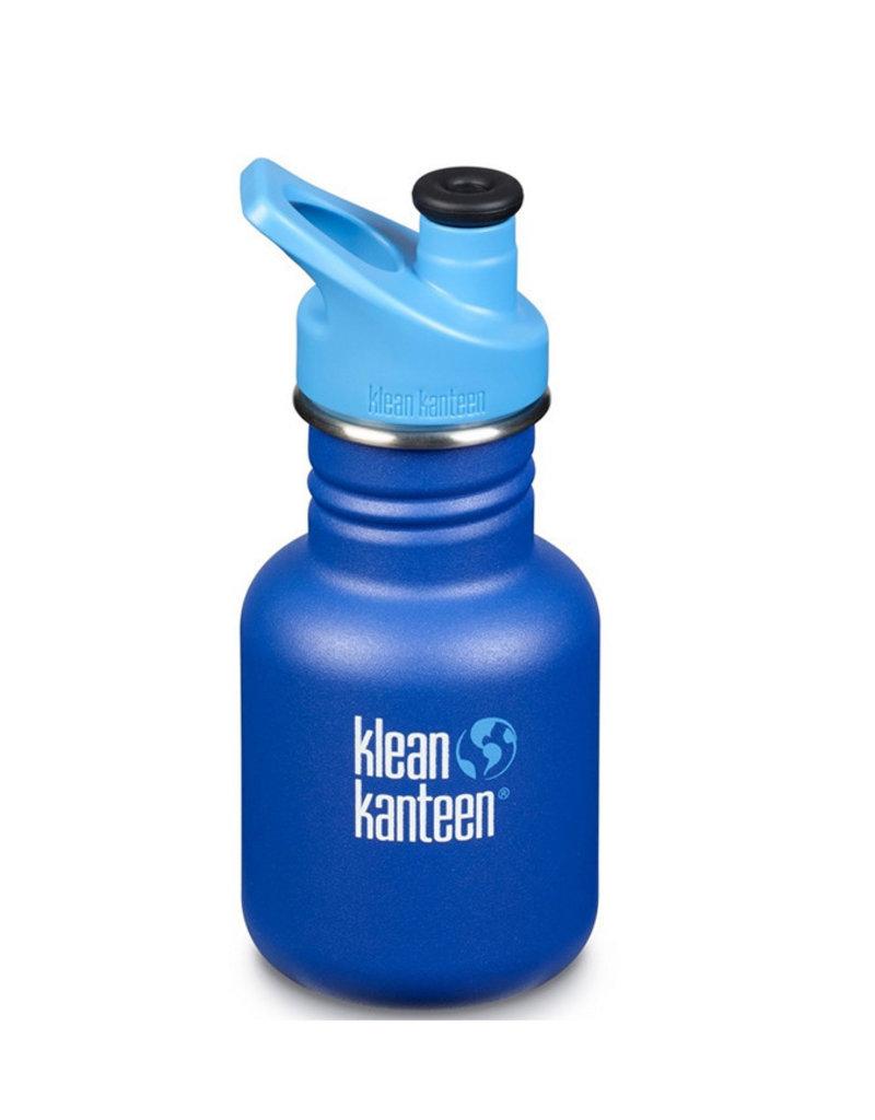 Klean Kanteen 12oz Kid Ocean Sport Cap yellow