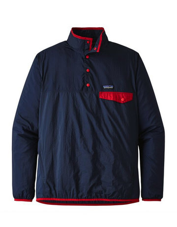 Patagonia M's Houdini Snap-T P/O Stone blue w new navy
