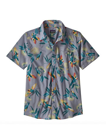 Patagonia M's Go To Shirt parrots ghost purple