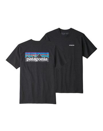 Patagonia M's P-6 Logo Responsibili-Tee Black