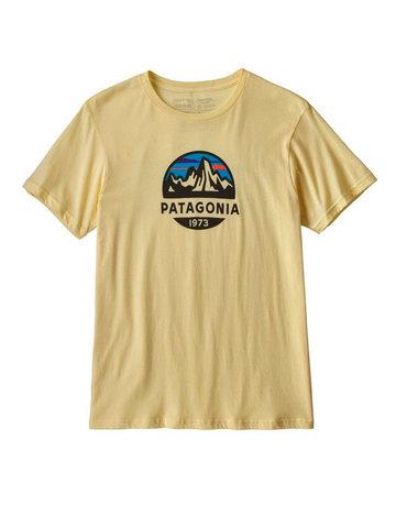 Patagonia M's Fitz Roy Scope Organic T-Shirt Resin Yellow