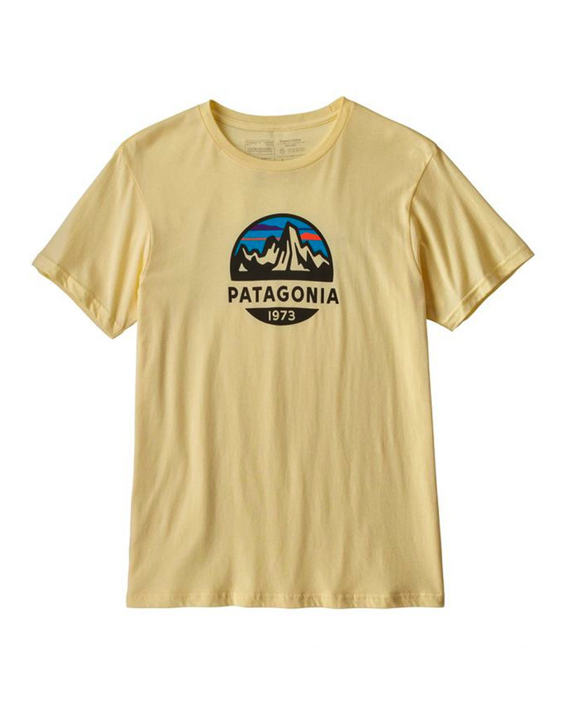Patagonia M's Fitz Roy Scope Organic T-Shirt Resin Yellow