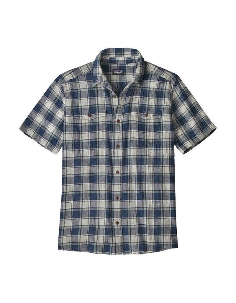 Patagonia M's Steersman Shirt stone blue