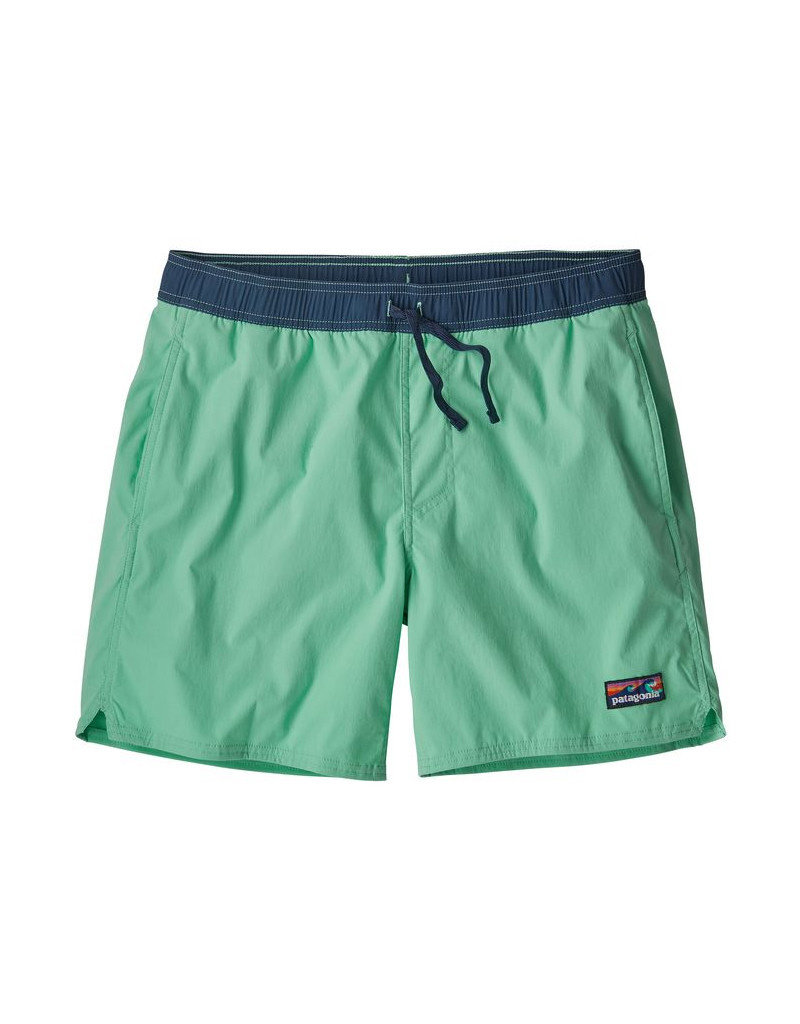 Patagonia M's Stretch Wavefarer Volley Shorts - 16 in. Vjosa Green
