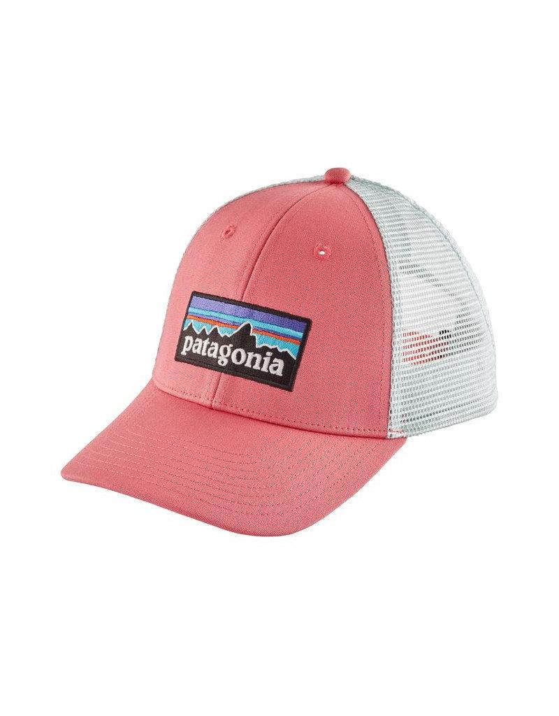 Patagonia P-6 Logo LoPro Trucker Hat Sticker Pink