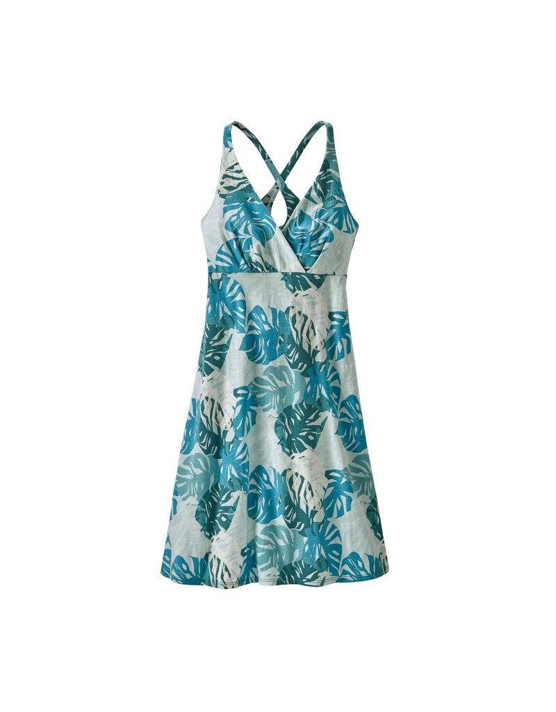 Patagonia W's Amber Dawn Dress Tarkine Fern: Tasmanian Teal
