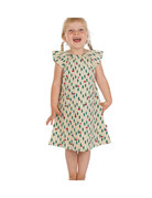 Froy & Dind DRESS BUTTERFLY CHERRY JERSEY COTTON