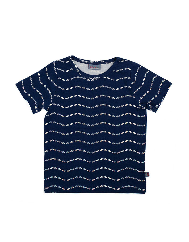 Froy & Dind SHIRT BAS BOAT JERSEY COTTON