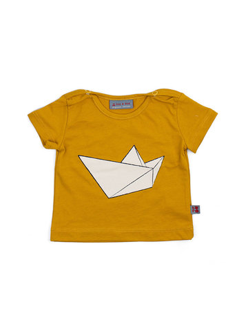 Froy & Dind SHIRT TITO PAPERBOAT JERSEY COTTON