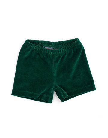 Froy & Dind SHORTS ALPINE GREEN VELOURS