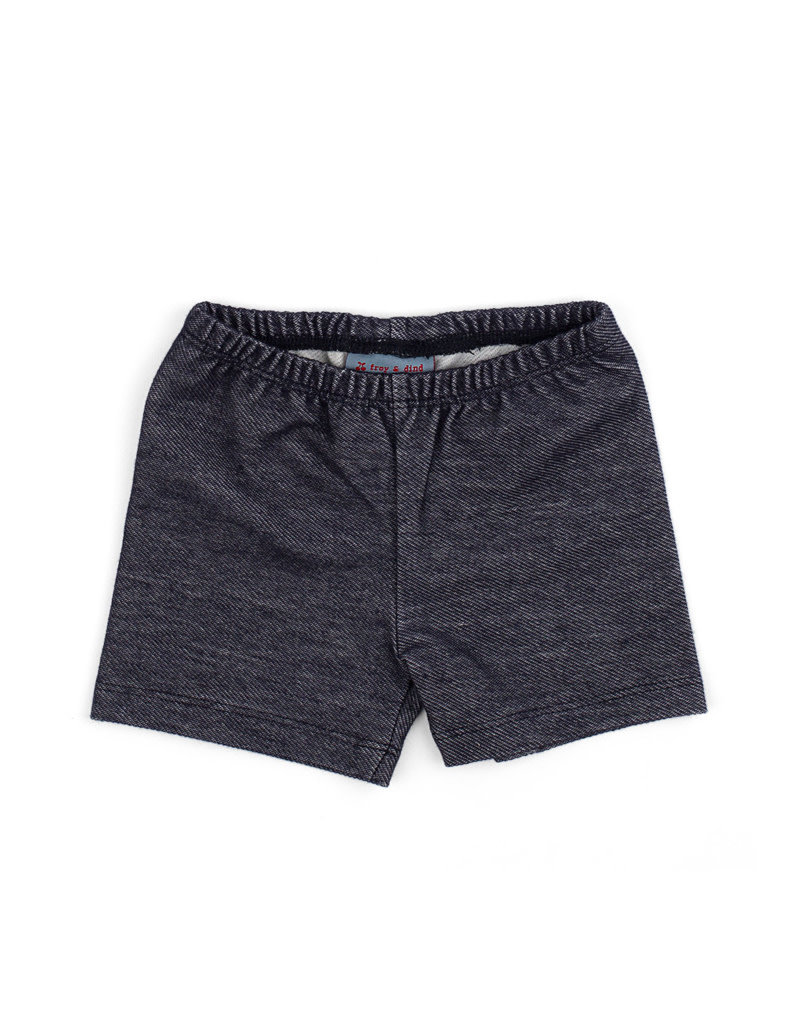 Froy & Dind SHORTS JERSEY JEANS COTTON