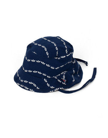 Froy & Dind SUMMER HAT SMALL BOAT JERSEY COTTON 0-6Mø