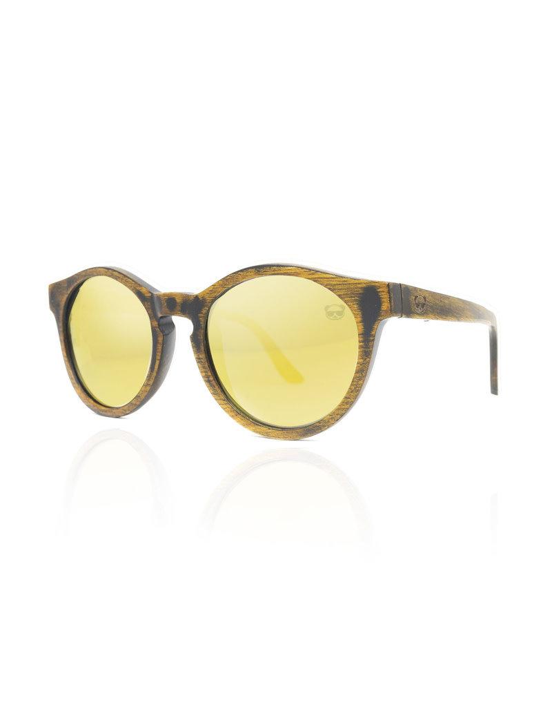 FreshForPandas Panda oval distrssd/yellow lens