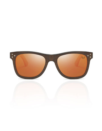 FreshForPandas Panda dark brown/orange lens