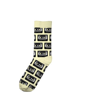 Dedicated Socks Sig Tap Pal Yellow