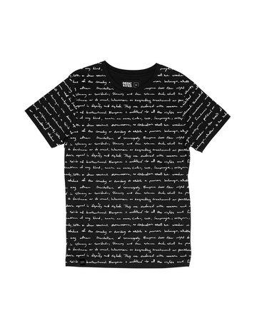 Dedicated Tshirt Human Rights Black