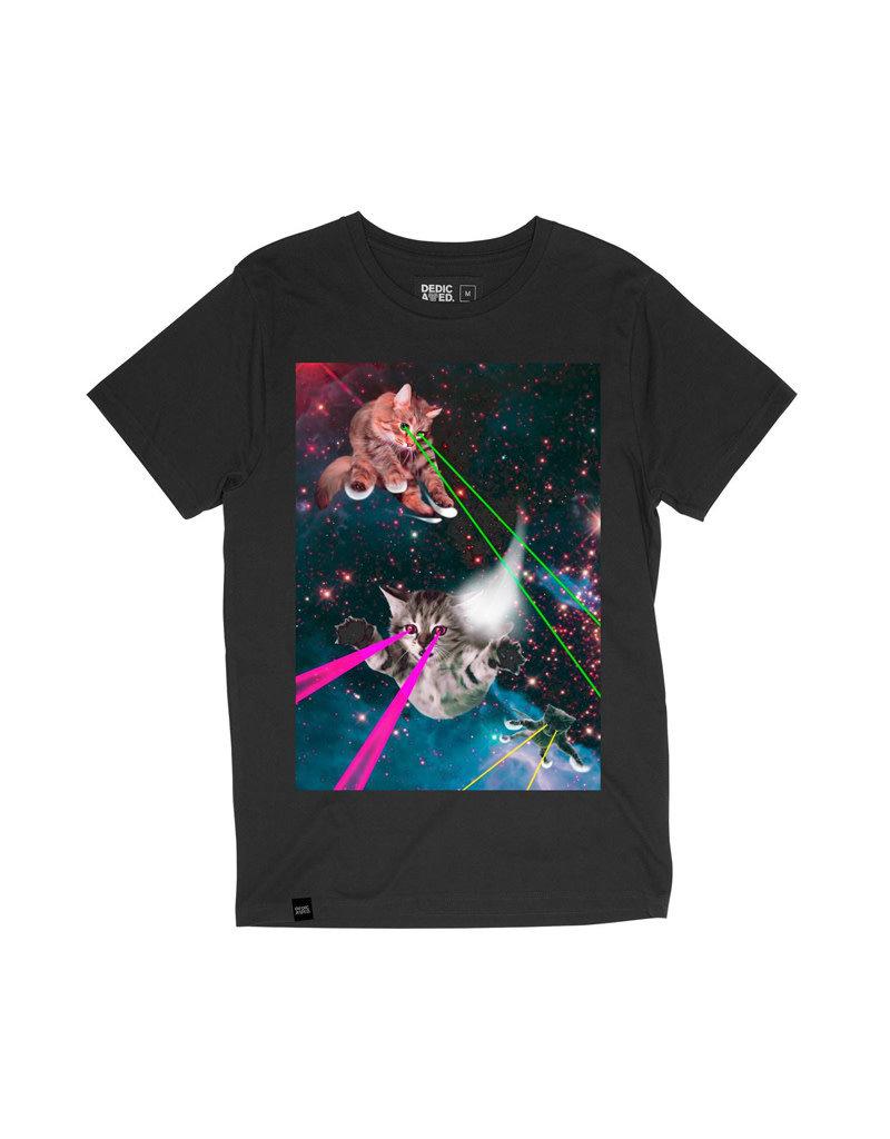 Dedicated Tshirt Laser Cats Charc