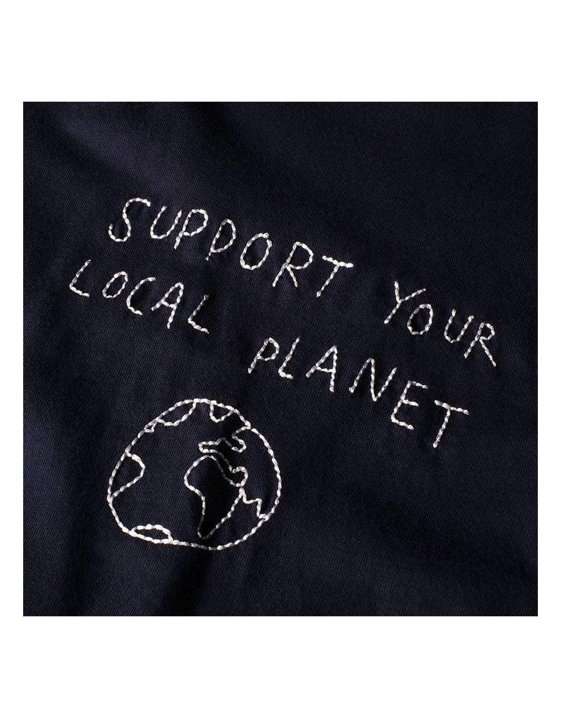 Dedicated Tshirt Local Planet Navy