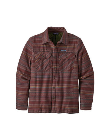 Patagonia M's Insulated Fjord Flannel Jkt-Ruby