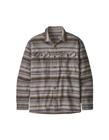 Patagonia M's L/S Fjord Flannel Shirt-Brown