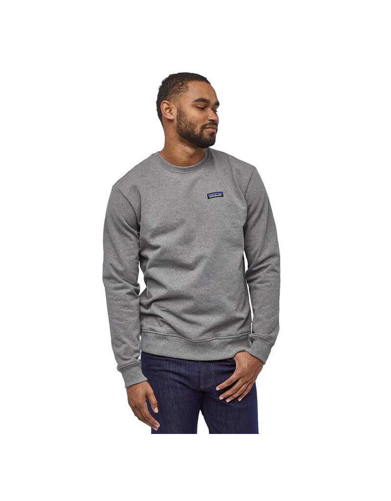 Patagonia M's P-6 Label Uprisal Crew Sweatshirt – Brown