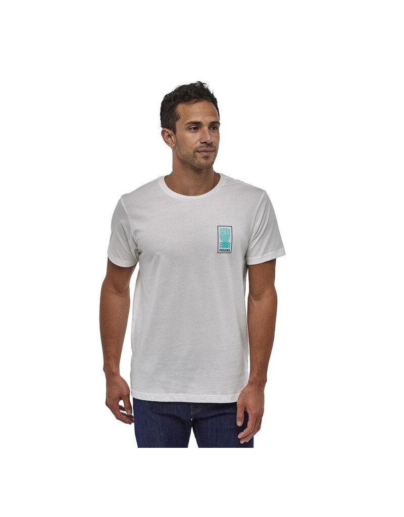 Patagonia M's Protect Your Peaks Organic T-Shirt –Grey