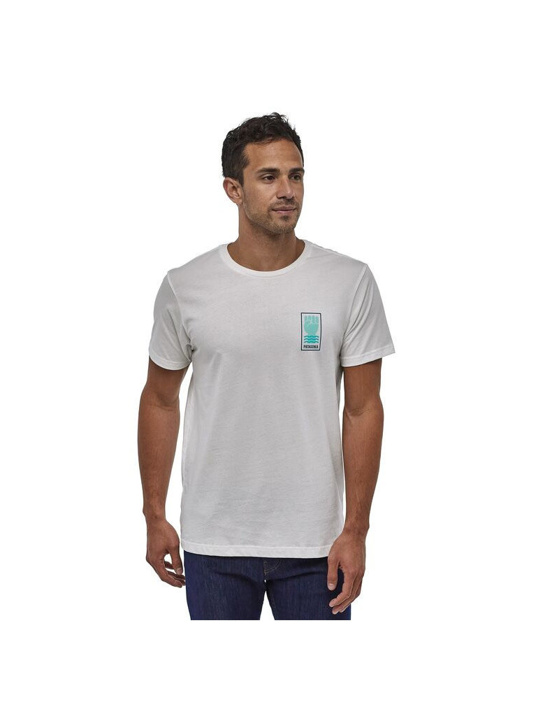 Patagonia M's Protect Your Peaks Organic T-Shirt –WHT