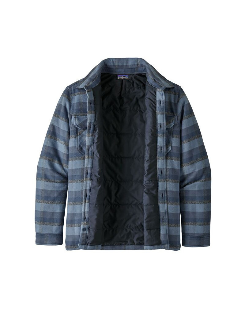 Patagonia M's Insulated Fjord Flannel Jkt-Navy