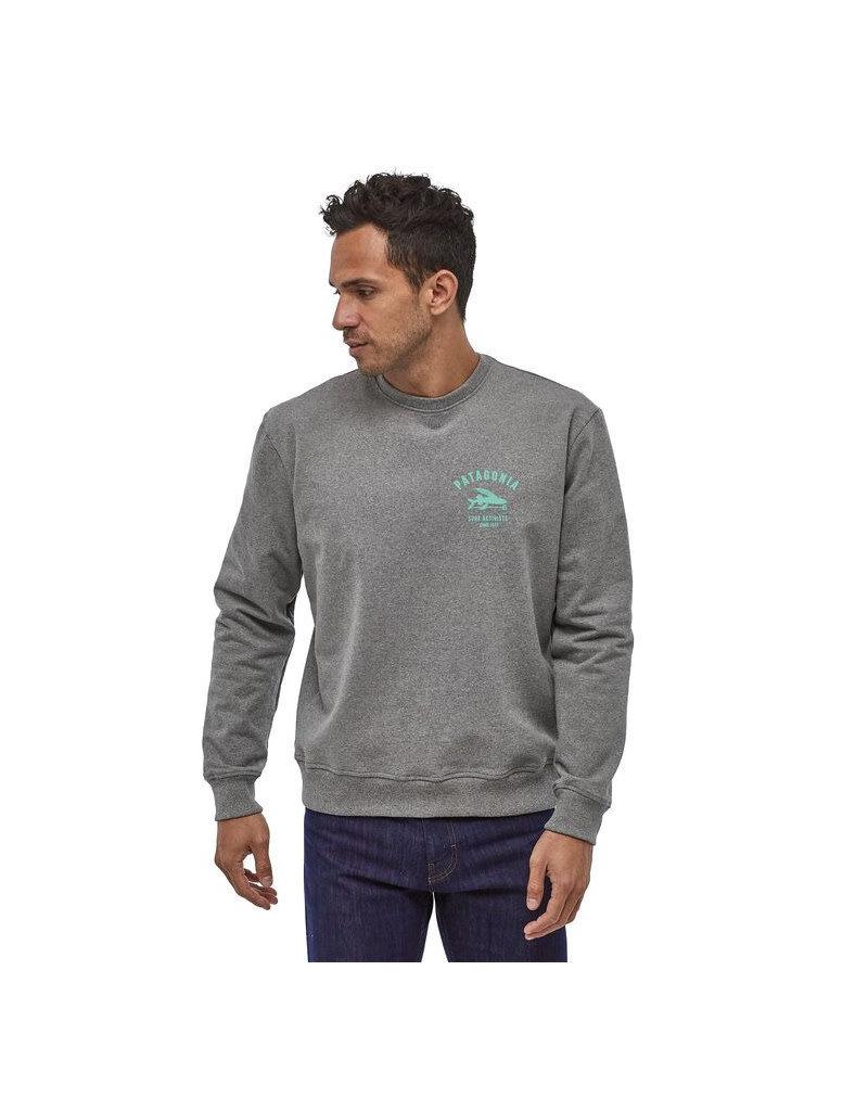 Patagonia M's Surf Act.Up. Crew Sweatshirt – Gravel