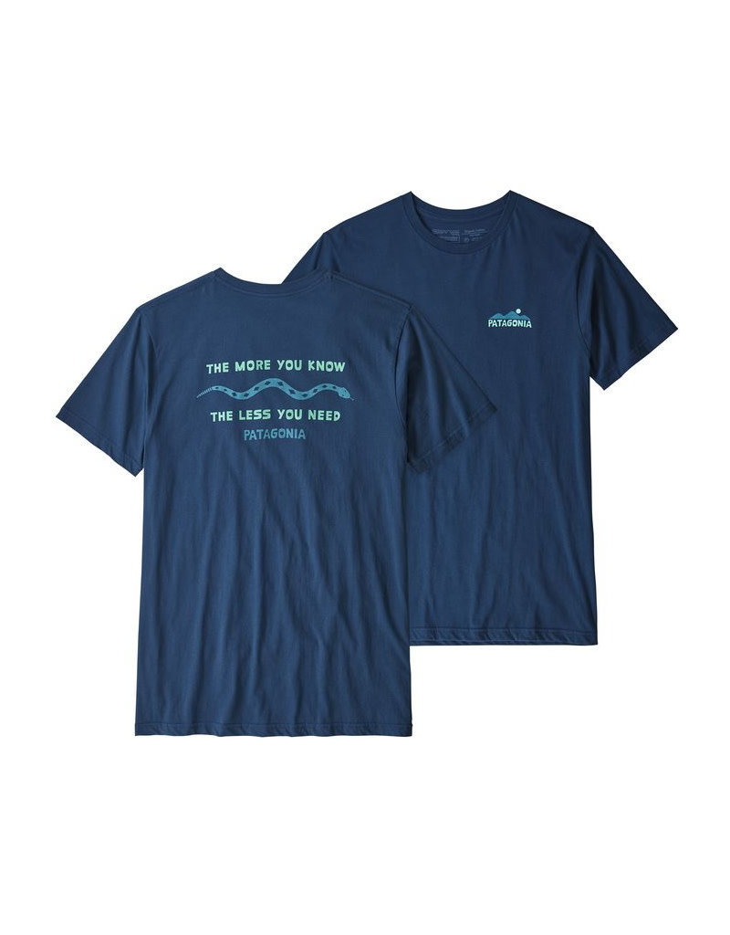Patagonia M's the less Stone blue