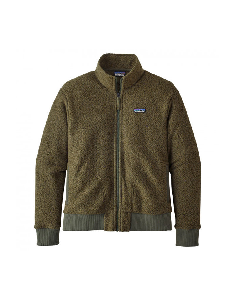 Patagonia M's Woolyester Fleece P/O-Brown