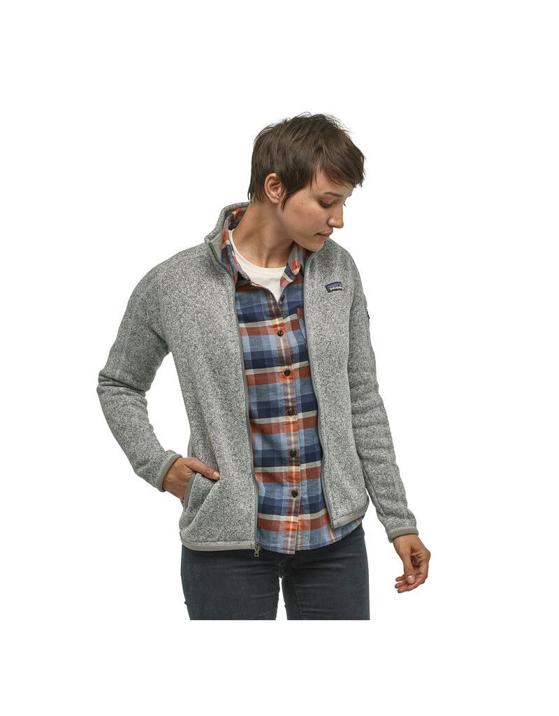 Patagonia W's Better Sweater Jkt-WHT
