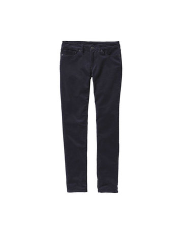 Patagonia W's Fitted Corduroy Pants-Blue