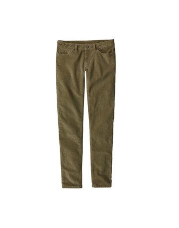 Patagonia W's Fitted Corduroy Pants-Khaki