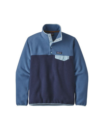 Patagonia W's LW Synch Snap-T P/O-NavyBlue