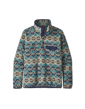 Patagonia W's LW Synch Snap-T P/O-Skyblue