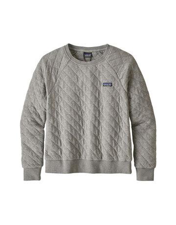 Patagonia W's Organic Cotton Quilt Crew-Grey