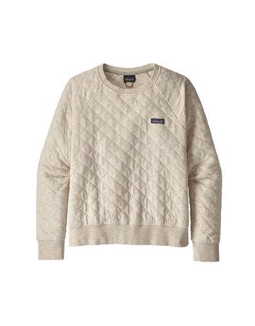 Patagonia W's Organic Cotton Quilt Crew-WHT