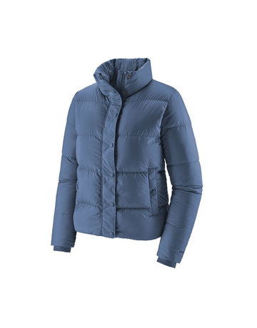 Patagonia W's Silent Down Jkt-Blue