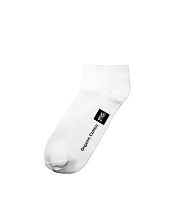 Dedicated Low Socks Tibble – White