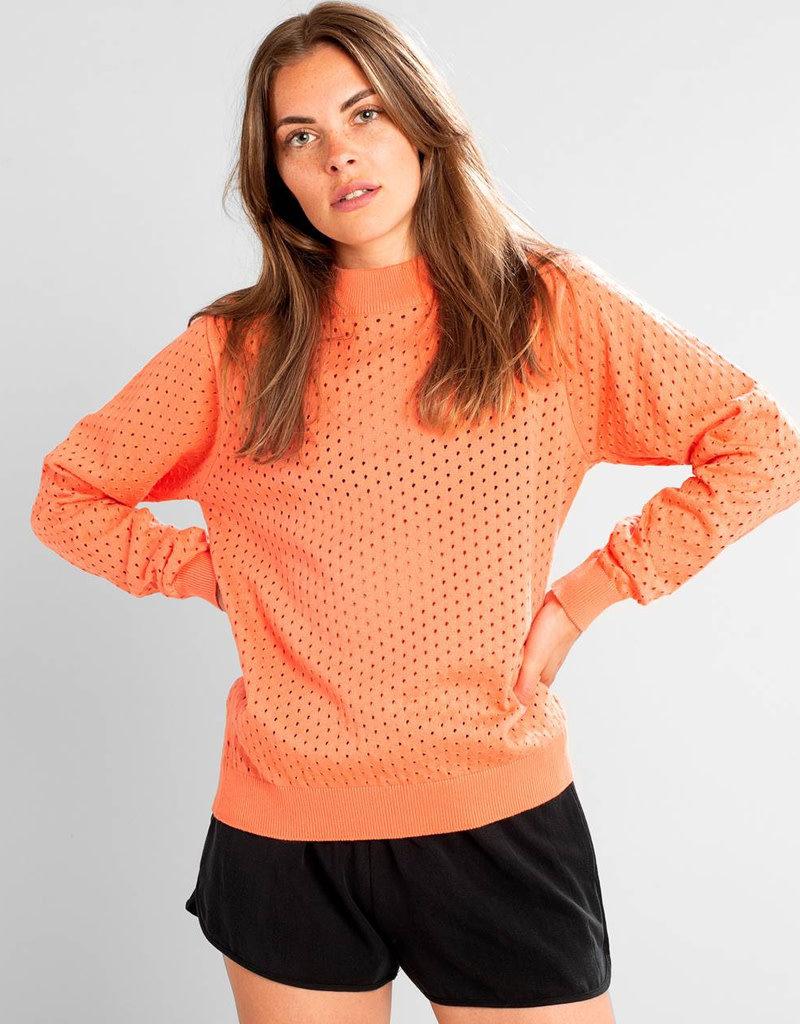 Dedicated Sweater Viborg Mesh – Coral