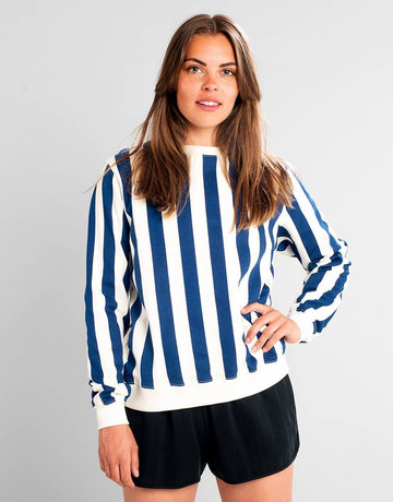 Dedicated Sweatshirt Ystad Big Stripes – Owht