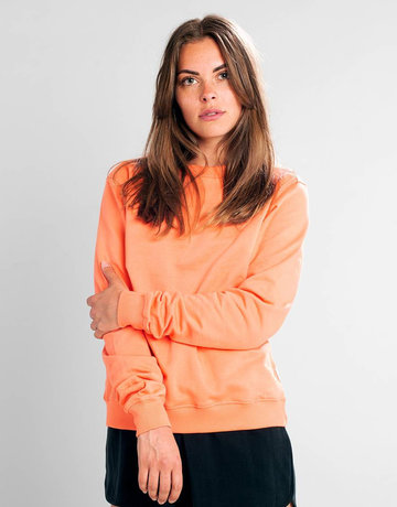 Dedicated Sweatshirt Ystad – Coral
