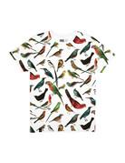 Dedicated T-shirt Birds – White