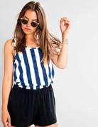 Dedicated Top Nora Big Stripes – Owht