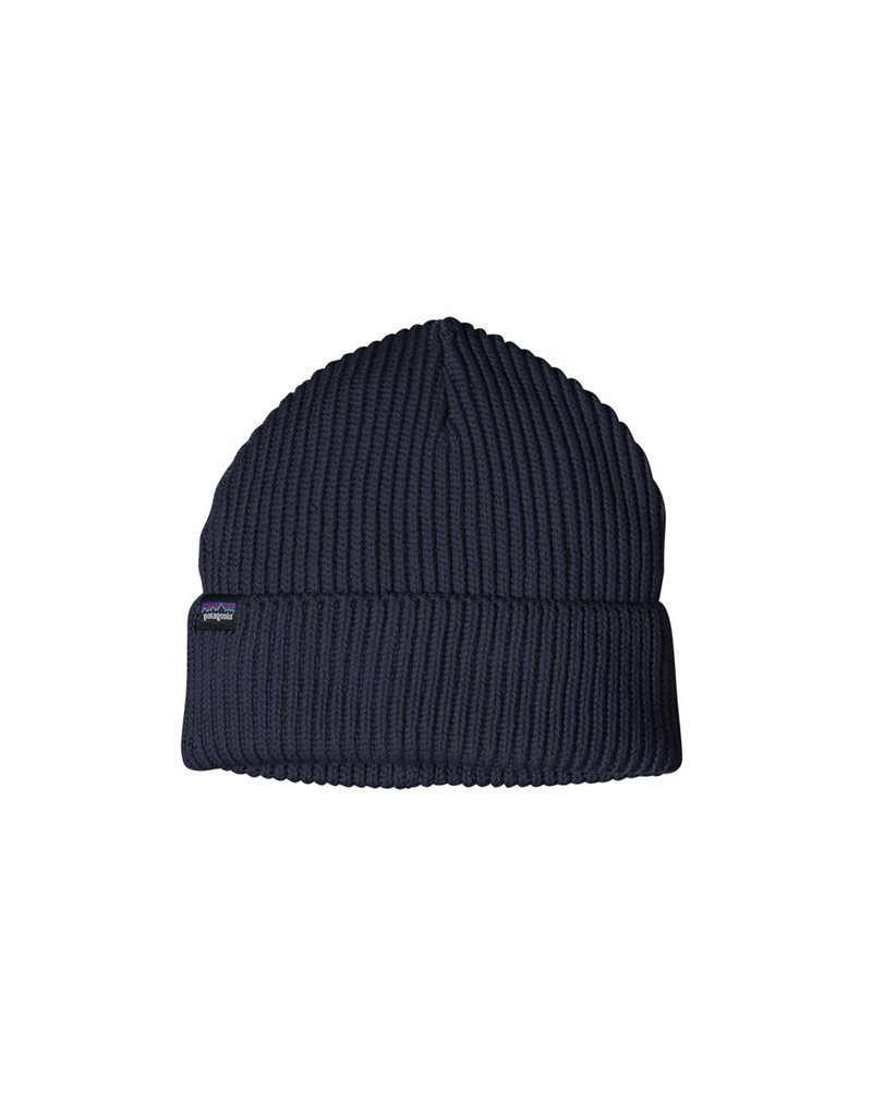 Patagonia Fishermans Rolled Beanie-Navy Blue