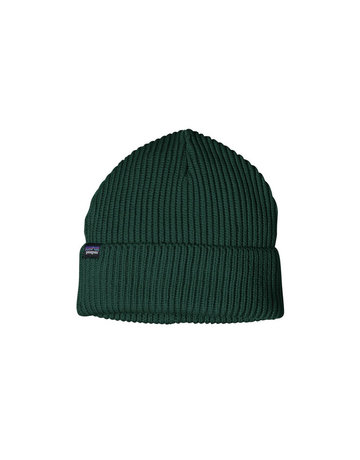 Patagonia Fishermans Rolled Beanie-Piki Green